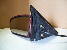 1997 Cutlass DRIVER'S side Maroon Side View Mirror Power Controlled