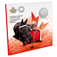 🇨🇦 2020 Canada's National Police Force 5 Dollars $5 Pure Silver Coin UNC, 2020