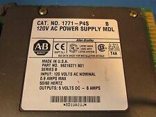 Allen Bradley 1771-P4S Ser B, 120V AC Power Supply MDL, Made in USA
