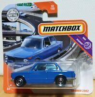 2020 Matchbox MB1173 MBX 50 1969 '69 BMW 2002 Blue NEW diecast model car