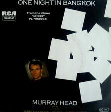 "7"" 1984 ! MURRAY HEAD : One Night in Bangkok / MINT-"
