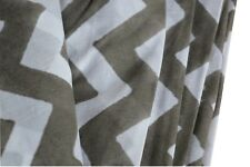 Striped Indian Hand Block Material Voile Dress Running By 5 Yard Fabric Light