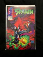 Spawn #1 1st Print Image Comics Todd McFarlane 1992 Near Mint Sealed Display