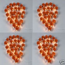 (Set of 4)-25 Bulbs Brown Deepak Rice lights Diwali Home decoration LED Light