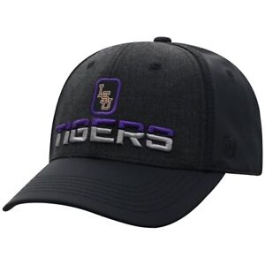 LSU Tigers NCAA TOW Tag Stretch Fitted Hat