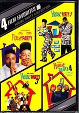 HOUSE PARTY COLLECTION 1 2 3 4  1990'S DVD 4 DISCS  R1  BERNIE MAC