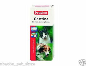 Beaphar Gastrine - Cat & Dog Stomach Calming Tablets Helps to Balance Digestion