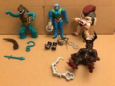 Power rangers Mighty morphin Evil alien villain vintage figures rare toy set