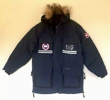 2XL MENS Canada Goose SNOW MANTRA Jacket NAVY BLUE Coyote Fur Authentic New Tags