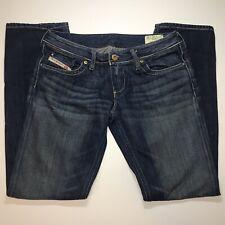 f9f92bf6 DIESEL INDUSTRY Lowky B.C. Boot Cut Low-Rise Blue Jeans Women's Size 28x30
