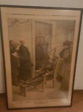 1910s LE PETIT PARISIEN Electric Chair Electrocution Execution French Newspaper