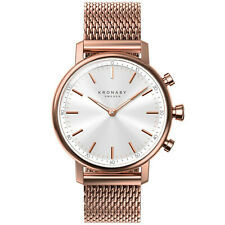 Kronaby Carat S1400-1 Rose-Gold Stainless-Steel Automatic Self Wind Smart Watch