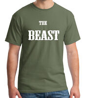 Beast Gym Swole Adult's T-shirt Body Building Workout Tee for Men - 1647C