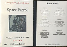 Space Patrol  - 68 TV Shows on 12 DVD's + Bonus OTR -  Ed Kemmer as Buzz Corry