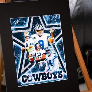Dallas Cowboys - T. Aikman #8- Dak Prescott #4- Tony Romo $9- Roger Staubach #12