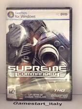 SUPREME COMMANDER - PC - NUOVO SIGILLATO NEW