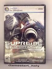 SUPREME COMMANDER - PC - NUOVO SIGILLATO NEW