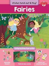 Fairies: Interactive fun with fold-out play scene, reusable stickers, and punch-