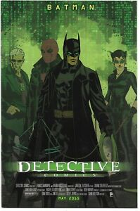 DETECTIVE COMICS #40 THE MATRIX MOVIE POSTER VARIANT NM- BRIAN STELFREEZE COVER