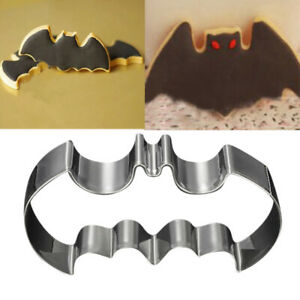 Bat Man Cutter Cake Pastry Biscuit Cookie Mold DIY Baking Fondant Mould