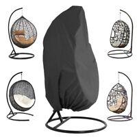 Rotin Swing patio jardin armure suspendus chaise housse de siège anti-UV imper
