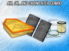 AIR, CABIN & OIL FILTER COMBO FOR BMW 06-07 525i, 08-11 528i, 06-07 530i- 3.0L