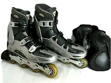 Rollerblade Triforce Inline Skates With Knee Guards Men's Size 11.5