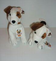 Dennys Restaurant  Wishbone Bean Bags Plush Dog PBS TV Show 1999 MINT