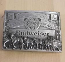 Vintage Budweiser Pewter Belt Buckle Markatron