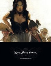 Tirage Luxe Grand format Long John Silver Labyrinthe d'Emeraude Tome 3  EO NEUF