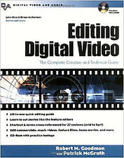 Editing Digital Video Book--The Complete Creative & Technical Guide, plus CD-ROM