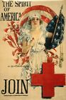 WWI Poster The Spirit Of America Join / Howard Chandler Christy 1919 ; Forbes.