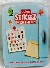 Coles Stikeez Fresh Friends Collectors Case 2020
