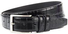 Cintura Uomo Nero Pelle Trussardi Belt Men Leather Black 125 COCCO NK CATANIA 12