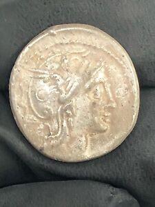 ANCIENT ROMAN DENARIUS SILVER COIN (3) 2.98G