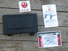 RUGER MARK III target 22/45 hunter MK IV FACTORY HARD CASE WITH MANUAL.