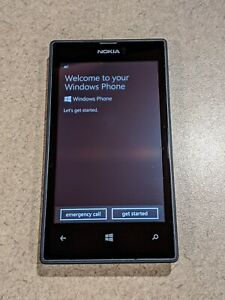 Nokia Lumia 520 - 8GB - Black - Including Charger - Condition A - AT&T