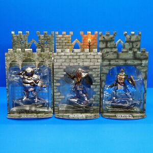 Dark Souls Heroes of Lordran Figure Set Oscar Solaire Siegmeyer Statue Figurines