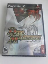 Duel Masters Limited Edition Sony Playstation 2 PS2 NTSC Atari 2004
