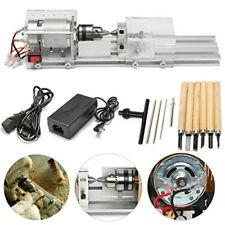 24V 100W Woodworking DIY Mini Lathe Beads Polishing Machine [CA STOCK]