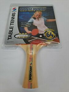 NOS NEW Sportcraft Contender Table Tennis Ping Pong Paddle #19127 VTG