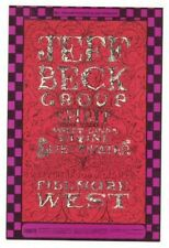 Jeff Beck Group Spirit Fillmore Ballroom Bill Graham Postcard Bg-148 N/M B-7