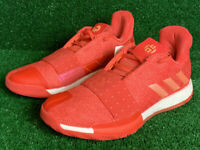 Adidas James Harden XIII Vol.3 Basketball Shoes Red Coral D96990 Men's Size 11
