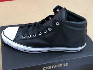 Converse Chucks Sneaker High Street Leder Gr. 45 schwarz Herren Stiefel 149426C
