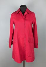Women's J. Crew MACKINTOSH Red Dunkled Model Coat Rain Jacket Size XS RRP 950$