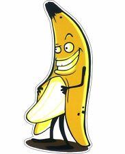 Evil Banana sex funny naughty cartoon Tool Box Bumper Sticker Vinyl Decal