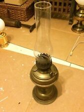 VINTAGE BRITISH MADE OIL LAMP - UNTESTED - VERY GOOD CONDITION
