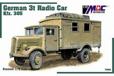 MAC DISTRIBUTION 72080 1/72 German 3t Radio Car KFZ. 305