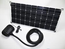 100 W Solar Teichpumpe Bachlaufpumpe Filter Tauch Pumpe Solarpumpe Gartenteich