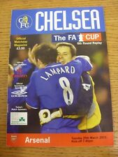 25/03/2003 Chelsea v Arsenal [FA Cup Replay] (Nicks Around Edges). Thanks for ta
